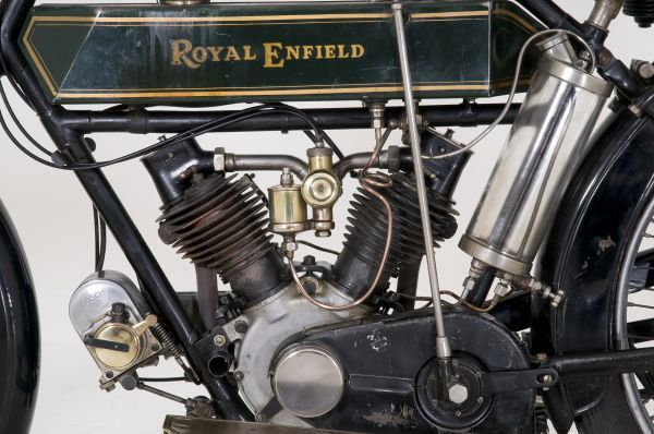 1914 Royal Enfield 3hp motorcycle