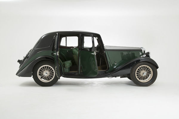 1934 Riley Falcon with open suicide doors
