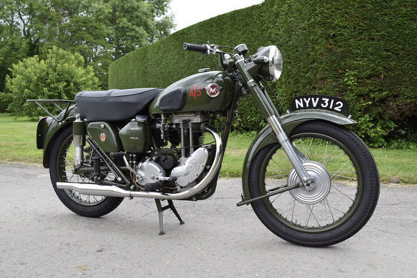 1954 Matchless G3 LS Auxiliary Fire Service Motorcycle