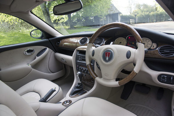 2005 Rover 75 interior. One of the last off the production line ...