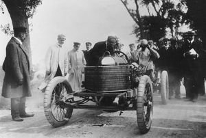 1905 Ostend Speed Trials. Darracq Algernon Lee Guinness
