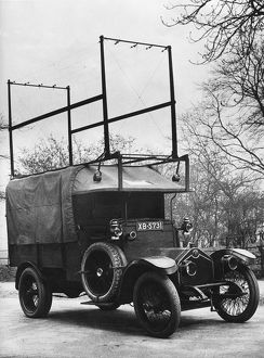 1918 Crossley 25-30hp used by Met Police Flying squad