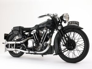 1932 Brough SS100 10HP Lawrence of Arabia classic bike