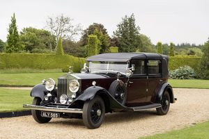 1933 Rolls - Royce Phantom II Sedanca de Ville. Barker body