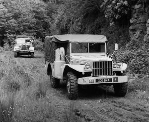 1943 Dodge 4x4 military weapons carrier