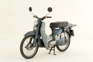 1964 Honda C50 Scooter-1