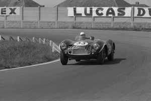 Aston Martin DB3S Roy Salvadori, Aintree BARC 100 International 23/06/1956