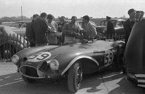 Aston Martin DB3S Stirling Moss, Goodwood International Sports car race 2.4.1956