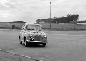 Austin A35 750MC 6 hour relay race Silverstone 17.8.57.