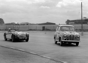 Austin A35 750MC 6 hour relay race Silverstone 17.8.57.CD5591-24