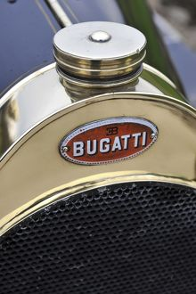 veteran vintage/bugatti t18 black bess badge