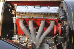 veteran vintage/bugatti t18 black bess engine