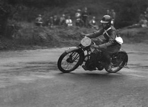 C.A. Worswick on Toreador. Ramsey hairpin, Isle of Man Amateur TT 1926