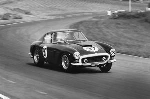 Ferrari 250 SWB Michael Parkes. Brands Hatch International meeting 1961