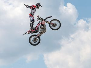 Freestyle Moto cross