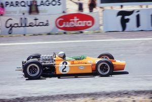 McLaren Ford, Bruce McLaren 1968 Dutch Grand Prix