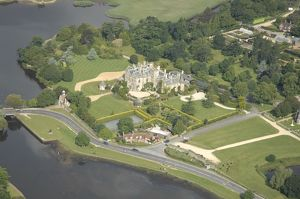 Palace House Beaulieu from the air