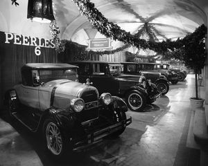 Peerless display at car show 1926
