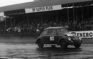 VW Beetle, M.J. Griffin. Goodwood 34th member's meeting 25.4.1959