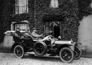 Wolseley 24-30hp with Turner the chauffeur 1914